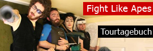 Fight Like Apes auf Tour