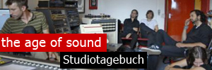 The Age of Sound im Studio